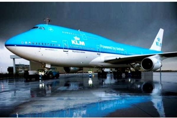 Pesawat Maskapai KLM