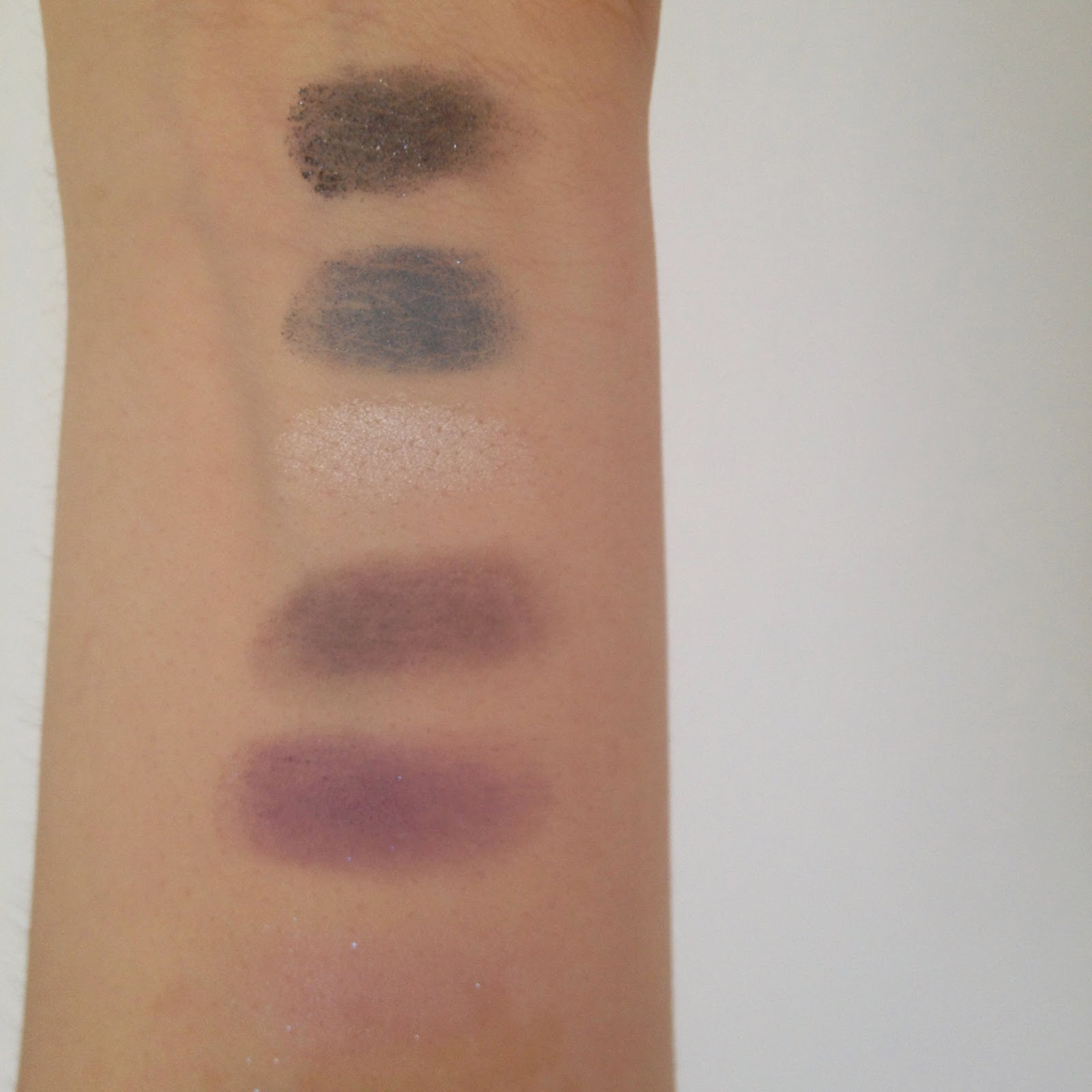 Eyes Are The Window to the Body swatches