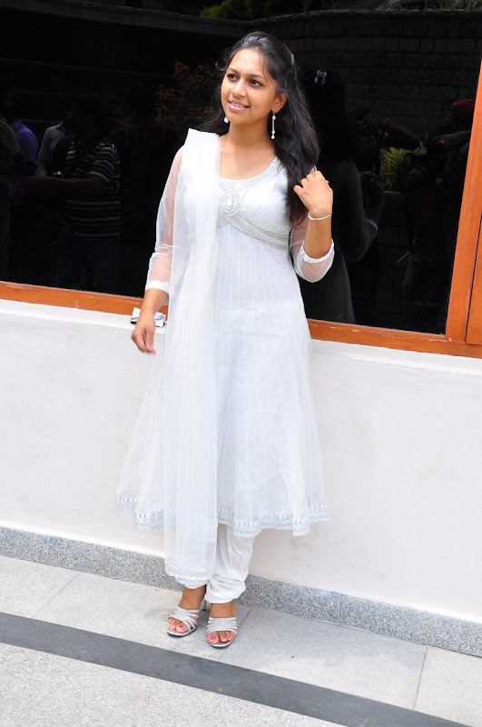 Sri  New Telugu Heroine PicsPhotos white dress glamour images