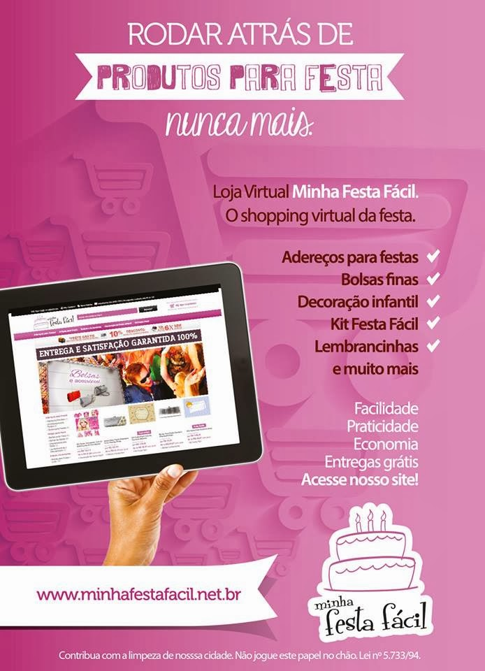 O Shopping Virtual da Festa