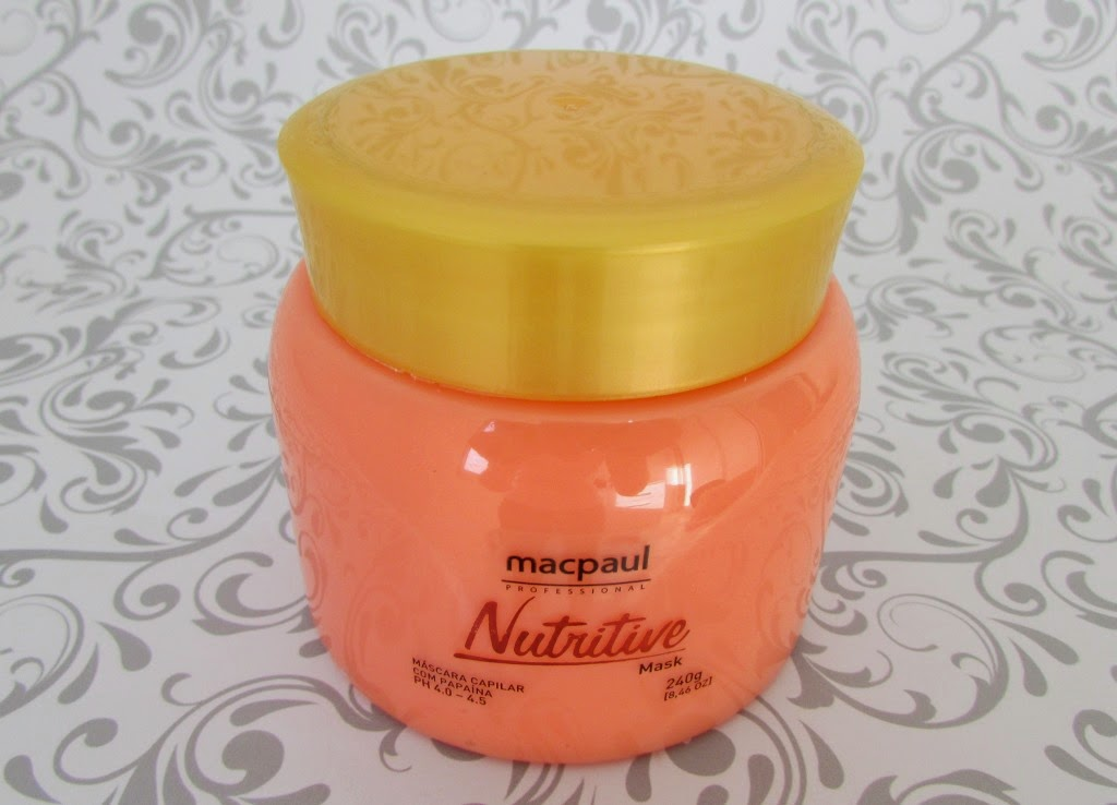 Resenha, Nutritive Mask, Mac Paul