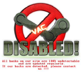 VAC Disabled!