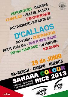 VACACIONES EN PAZ Campo Huesca. Junio 2013