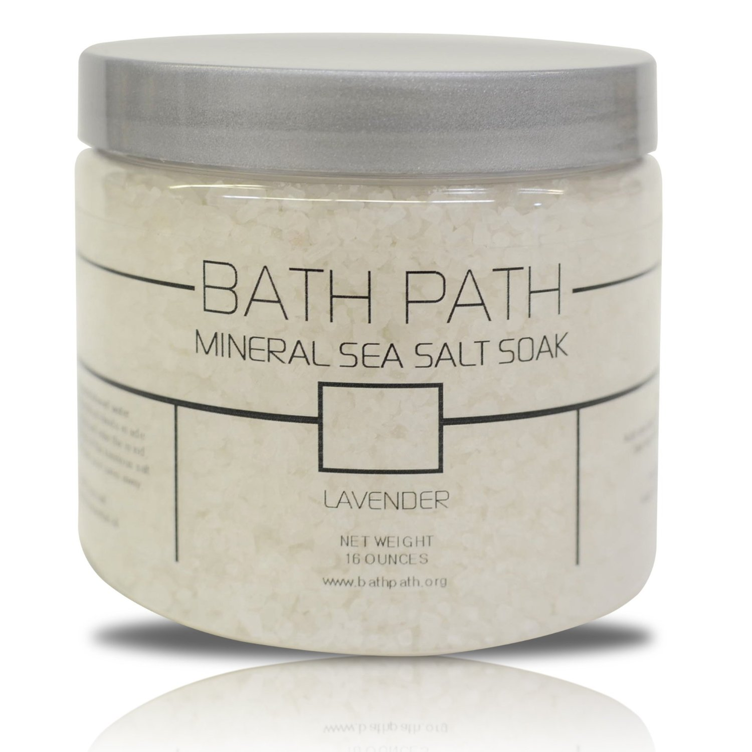 Bathpath Lavender Sea Salt Bath