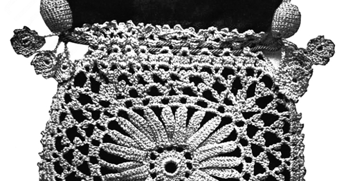 Crochet Patterns Lessons : ... Evening Bag - 1916 Corticelli Lessons in Crochet - Free Pattern