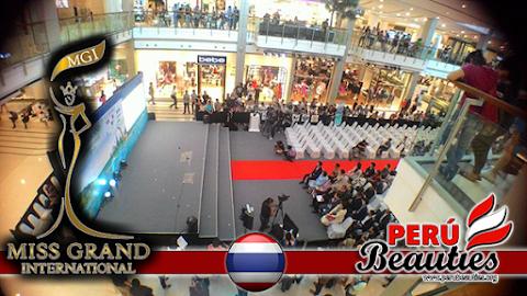 Backstage Conferencia de prensa y presentación de candidatas - Miss Grand International 2015
