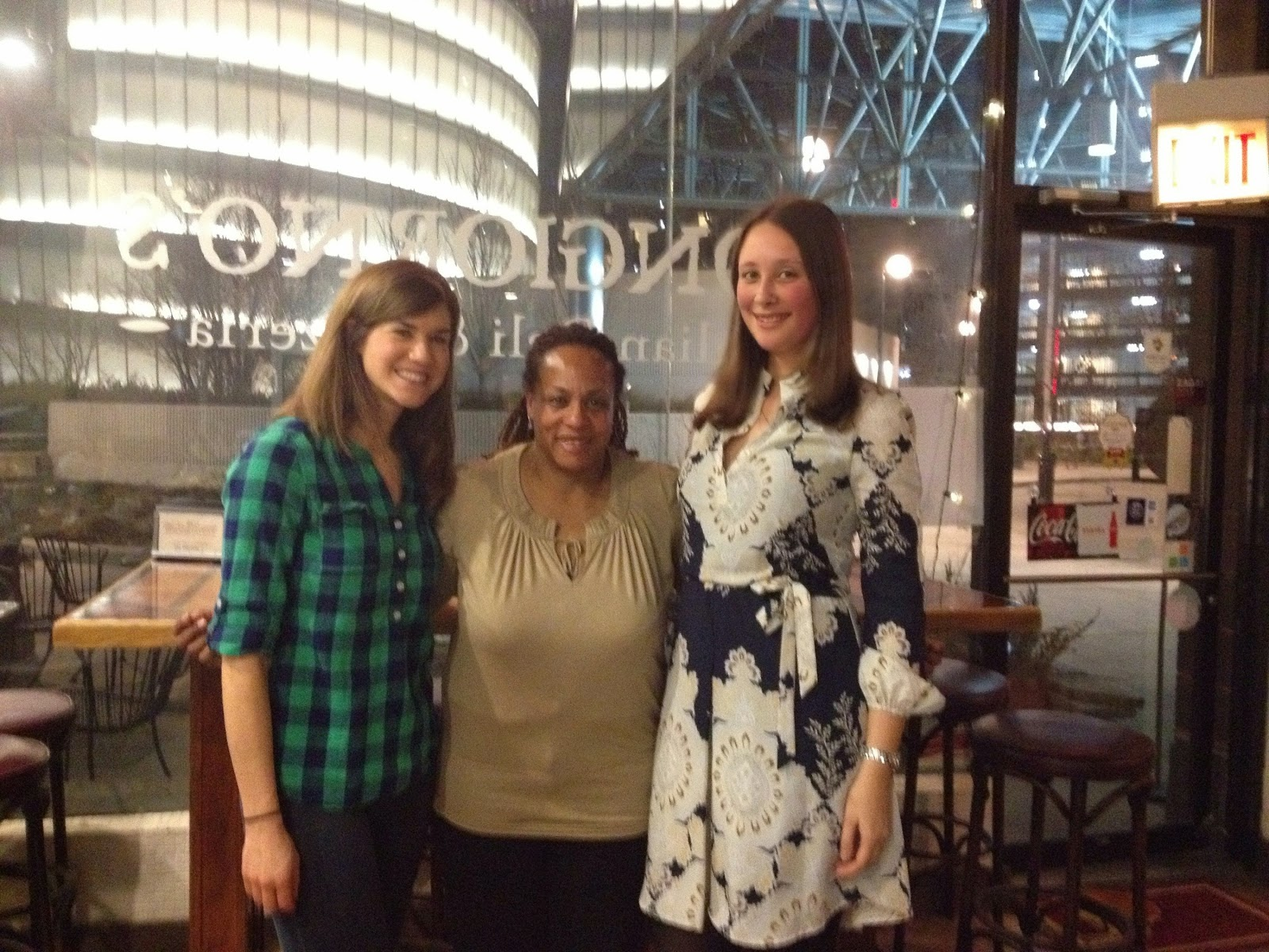 Travel Massive Chicago Organizers Janice and Olga with Kathryn