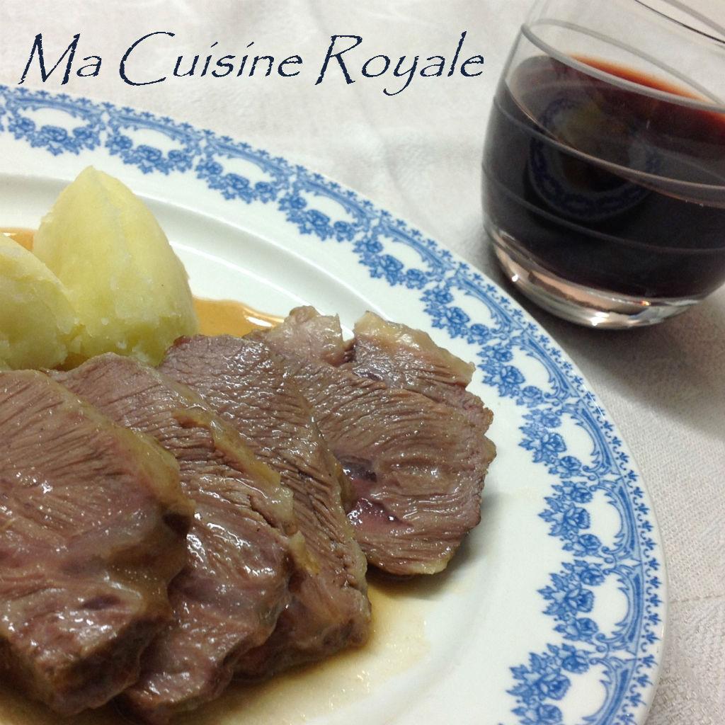 Guancia di vitello glassata ma cuisine royale for Cuisine royale
