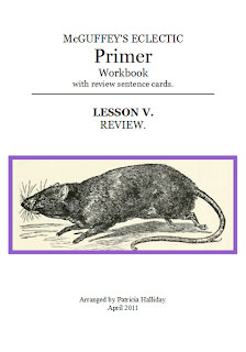 0-5 Booklet Lesson V McGuffey's Eclectic Primer (revised edition)