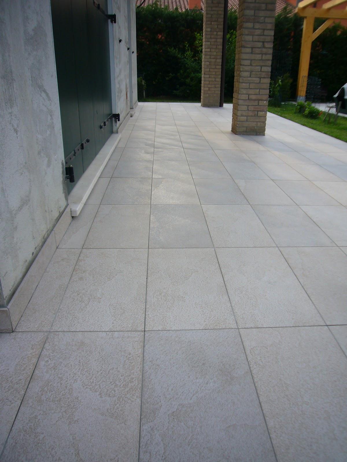 Pavimento esterno - Posa piastrelle esterno ...