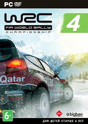 Cover Of WRC 4 FIA World Rally Championship Full Latest Version PC Game Free Download Mediafire Links At Worldfree4uk.com