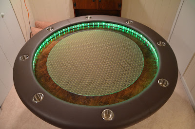 Amazing poker table built Seen On www.coolpicturegallery.us