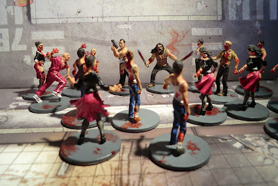 Zombicide Kickstarter Nick El Cholo Zombies Painted