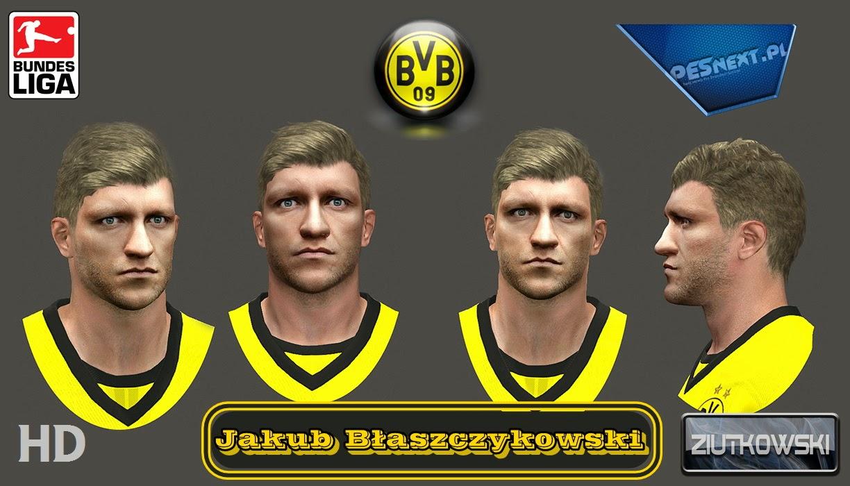 PES 2014 Jakub Błaszczykowski Face by ZIUTKOWSKI