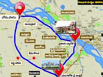 Latest news about aps new capital guntur vijayawada ap capital ap capital boundaries malvernweather Images