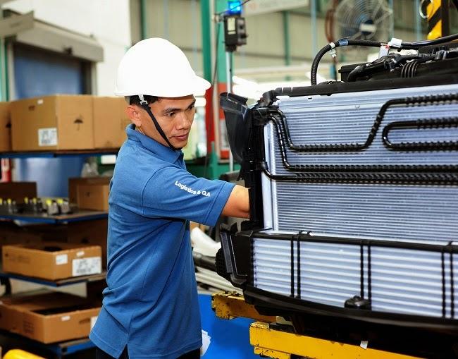 Nhà máy lắp ráp Mercedes-Benz tại Việt Nam