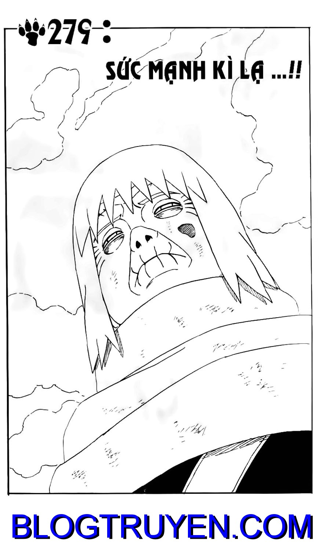 Naruto chap 279 Trang 1 - Mangak.info