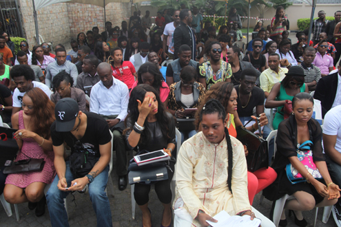 Thousands Storm Lagos For BBA, Africa's biggest Television Reality Show Audition