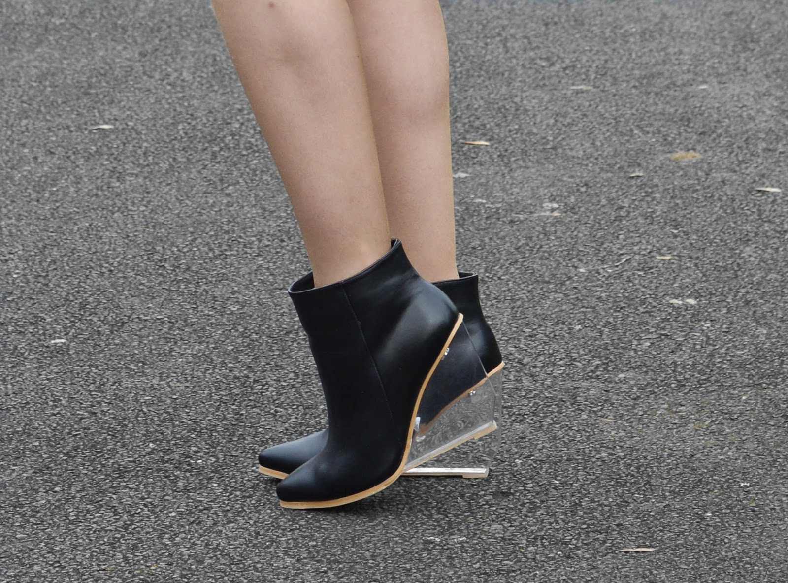Sammi Jackson - Zealotries Perspex Wedges