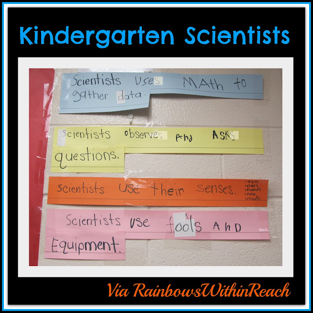 Science in Kindergarten: Handwritten Knowledge Base