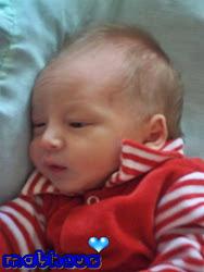 Matheus nasceu dia 22/03/2011