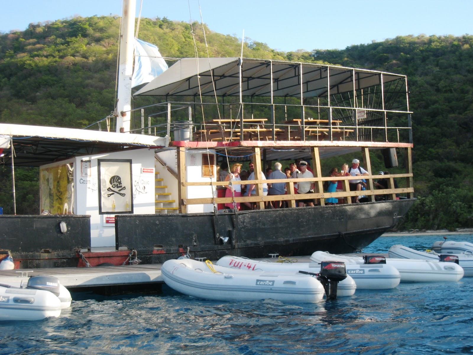 Willy-T & Norman Treasure Island, BVI — Midnight Sun