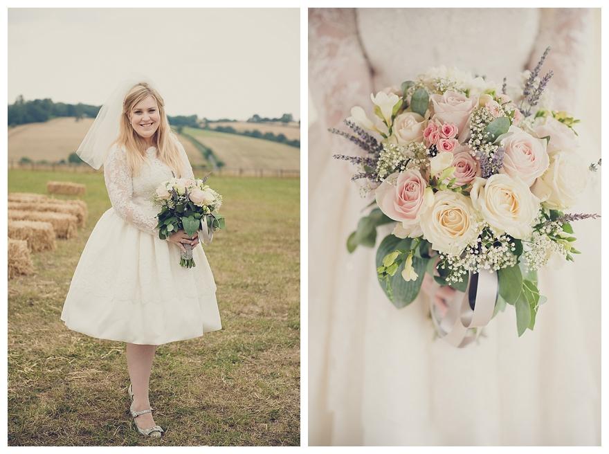 A Pretty Vintage Inspired Garden Wedding With Short Dress Ellis Bridals