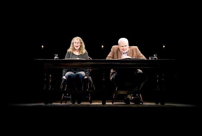 Entertainment Hour Love Letters The Brooks Atkinson Theatre