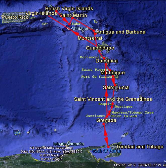 Caribbean Cruising Season 2013