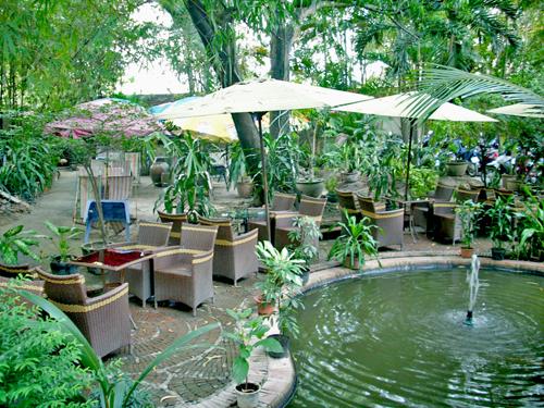 Cafe Thủy Trúc - Những quán cafe sân vườn đẹp tại Sài Gòn