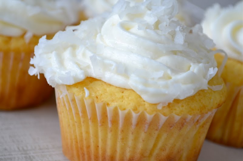 Coconut Key Lime Muffins Recipe — Dishmaps