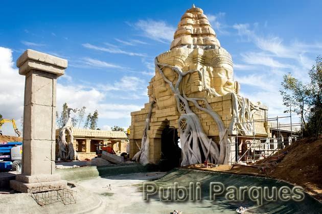 Construcción de Angkor vista principal
