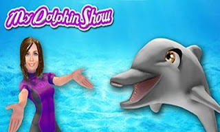 Screenshots of the My dolphin show for Android tablet, phone.