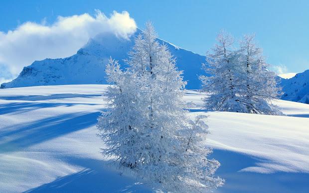 beautiful wallpapers snowfall