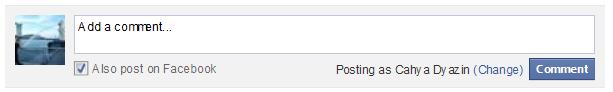 Cara Memasang atau Membuat Kotak Komentar facebook Di blog terbaru 2014