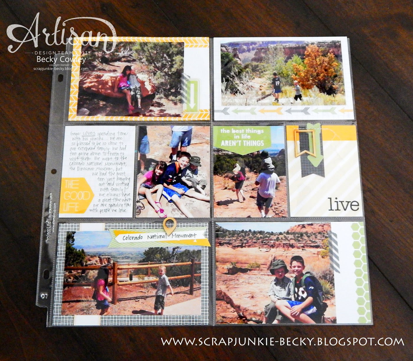 How to scrapbook with project life - Want More Tips On How To Get Started With Project Life Check Out This Blog Post By Stampin Up Concept Artist Arika Bauer She Ll Blow You Away With How