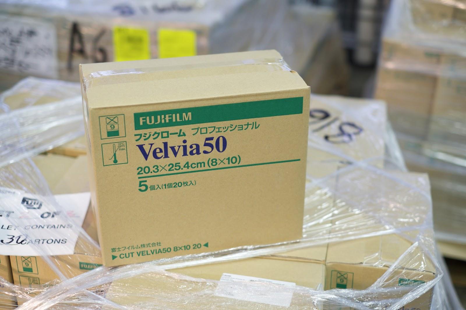 Velvia 100 4x5 Fujichrome Velvia 100 And