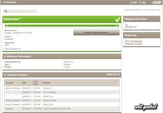 UPS Track Shipment
