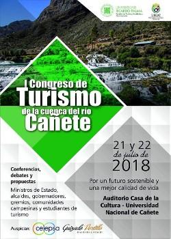 """""""I Congreso de Turismo de la Cuenca del Río #Cañete"""""""