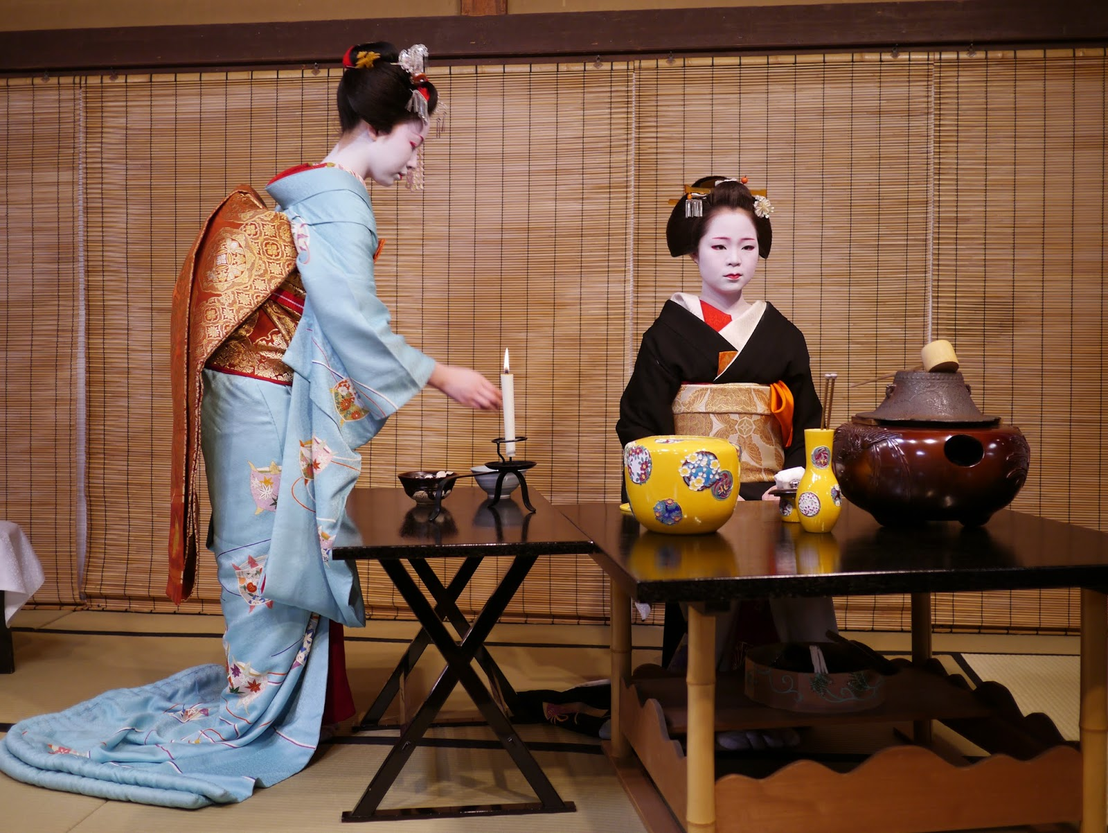 """an introduction to the analysis of the japanese tea ceremony The study of the aesthetic of the japanese tea ceremony this lesson will take place after a slide show on japan and discussion of the """"introduction to japanese."""