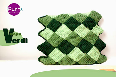 cojin entrelac crochet ganchillo ipunts patrón