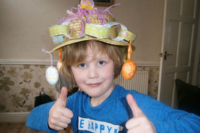 boy easter bonnet decorations for school