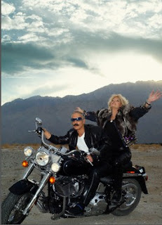 women on motorcycle