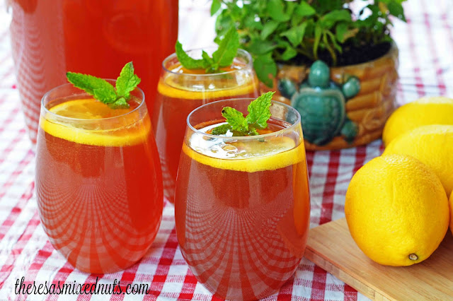 Honey Lemon Ice Tea