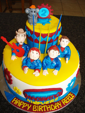Imagination Movers Cake