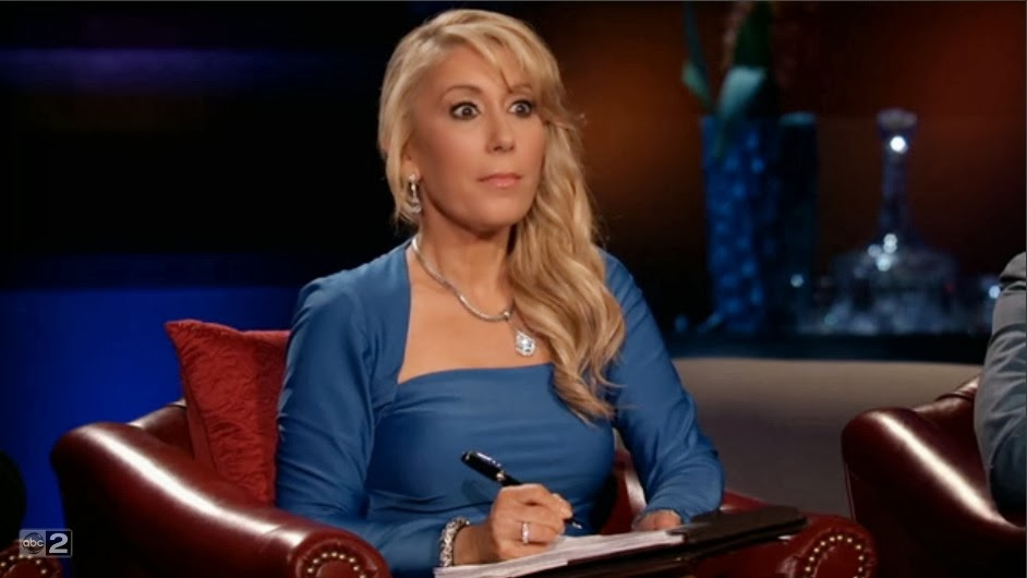 shark tank lori greiner eyes