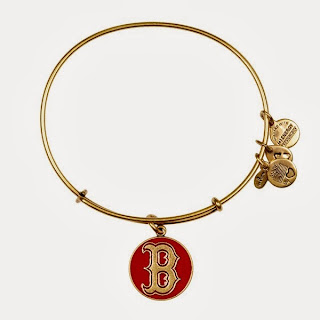 Boston Red Sox MLB Cap Logo Charm Bangle