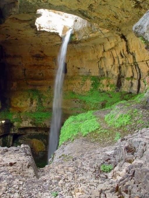 شلال باتار العجيب لبنان