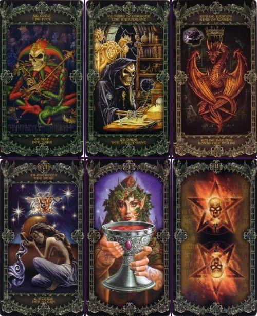 Alchemy 1977 England Tarot ไพ่ทาโรต์ โครงกระดูก Skeleton Gothic หัวกระโหลก โกธิค ไพ่ทาโร่ ทาโรท์ ไพ่ยิปซี ดูดวง ทำนาย ด้านมืด