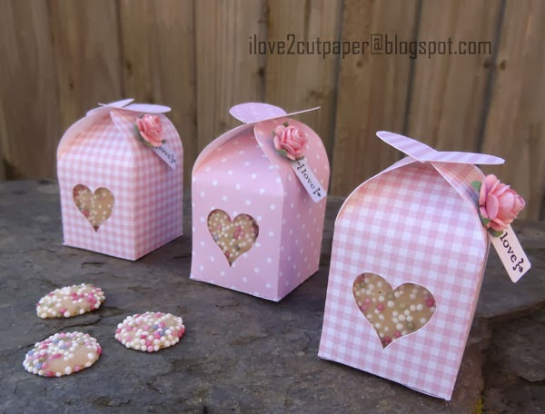 Valentine, Hearts, Gift Box
